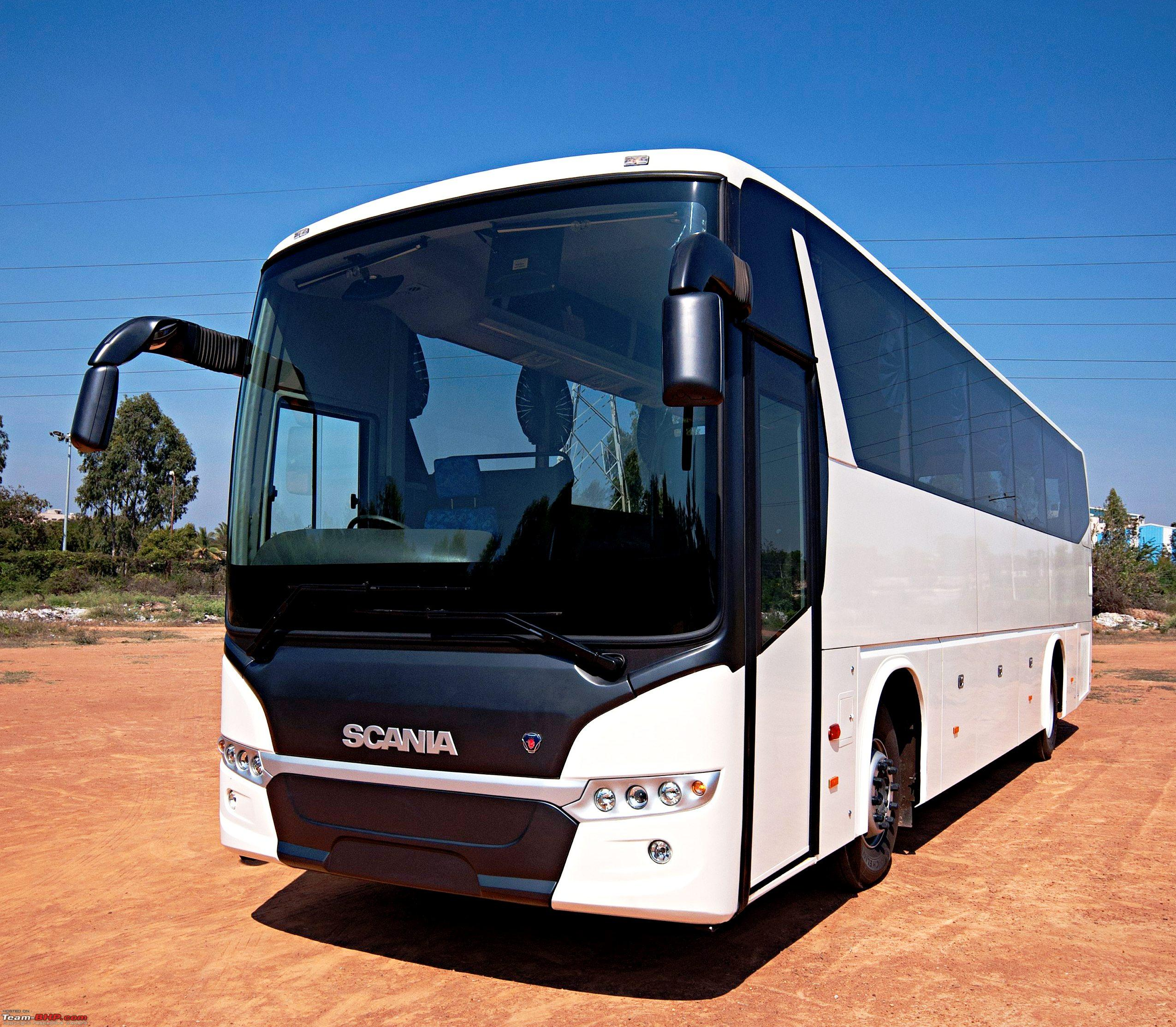 Scania launches Metrolink - New coach range for India - Team-BHP