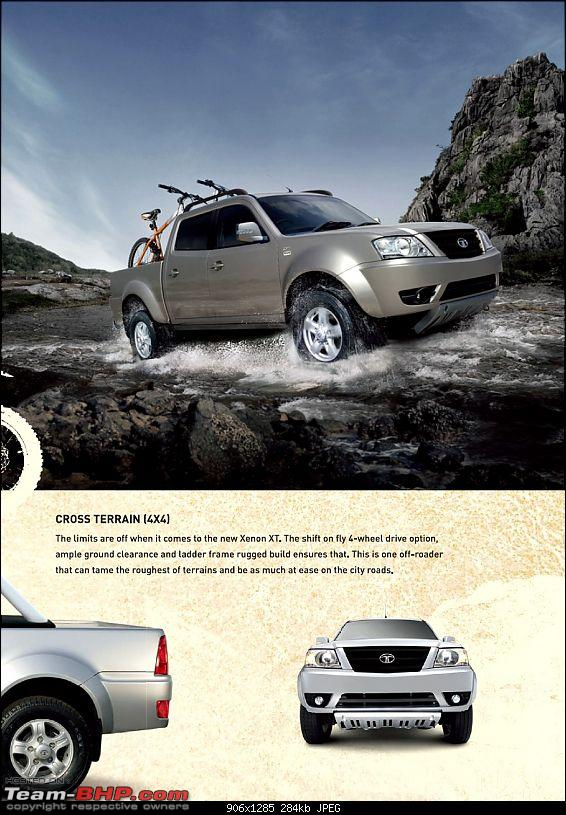 SCOOP : Tata XENON Spy Pictures EDIT: Now launched-4.jpg