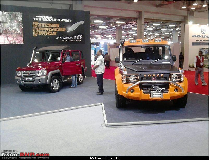 The 2013 International Bus & Utility Vehicle Show, Noida-ghurka.jpg