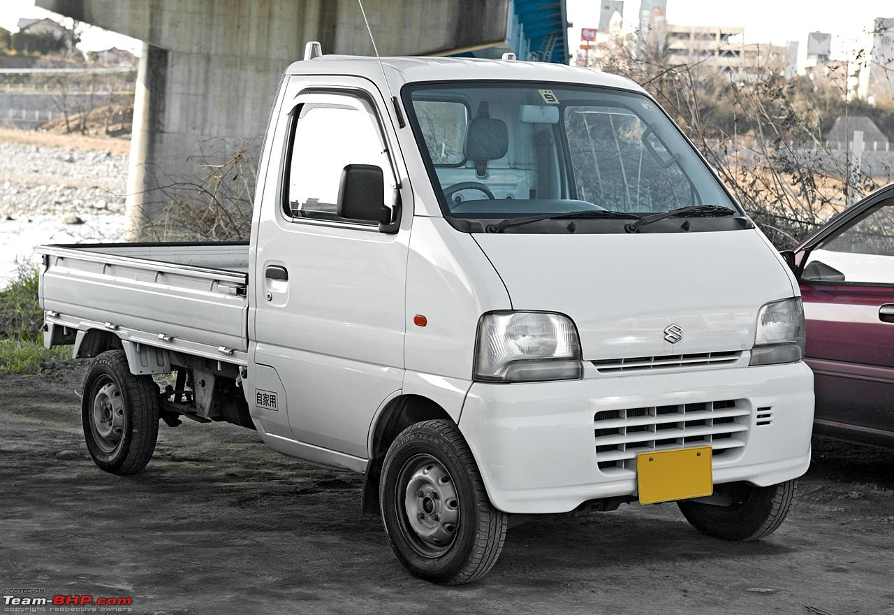 Maruti Suzuki S Mini Pick Up Truck Plans Carry