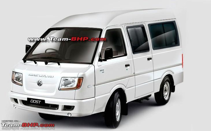 Name:  Ashok Leyland Dost Express Passenger Van 2.jpg Views: 46452 Size:  60.7 KB