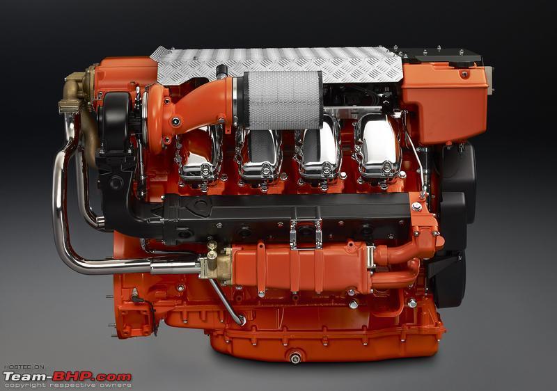 Scania launches Marine Engines in India - Team-BHP