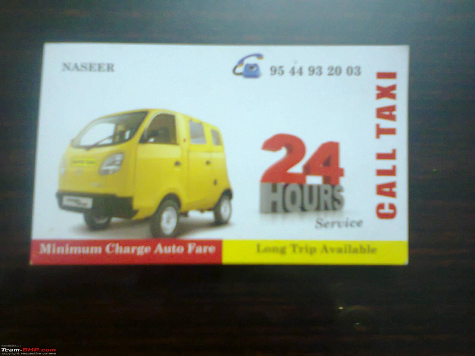 Awesome Pictures Of Taxi Driver Business Card – Business Cards and ...