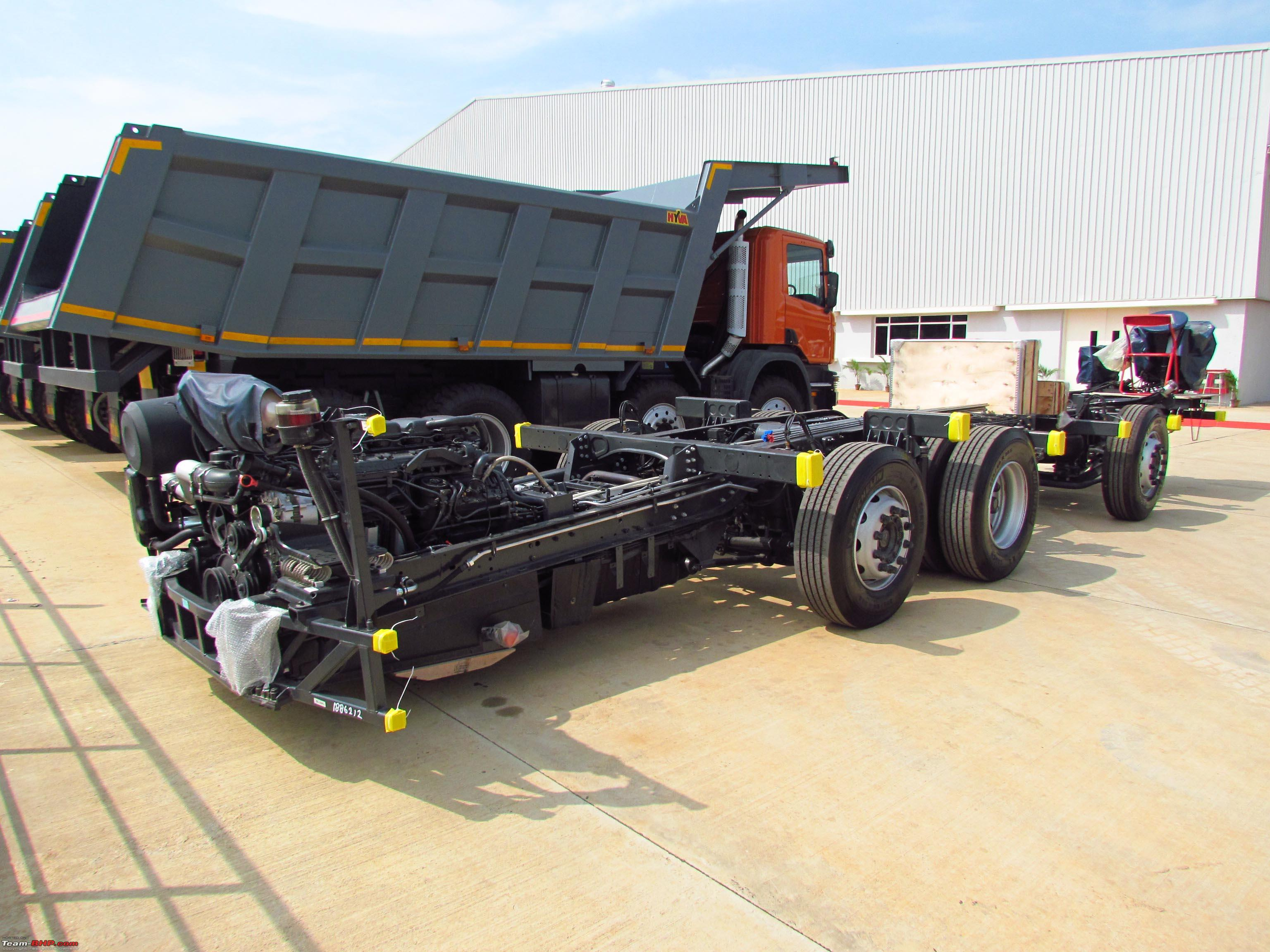 PICS: Scania multi-axle chassis - Team-BHP