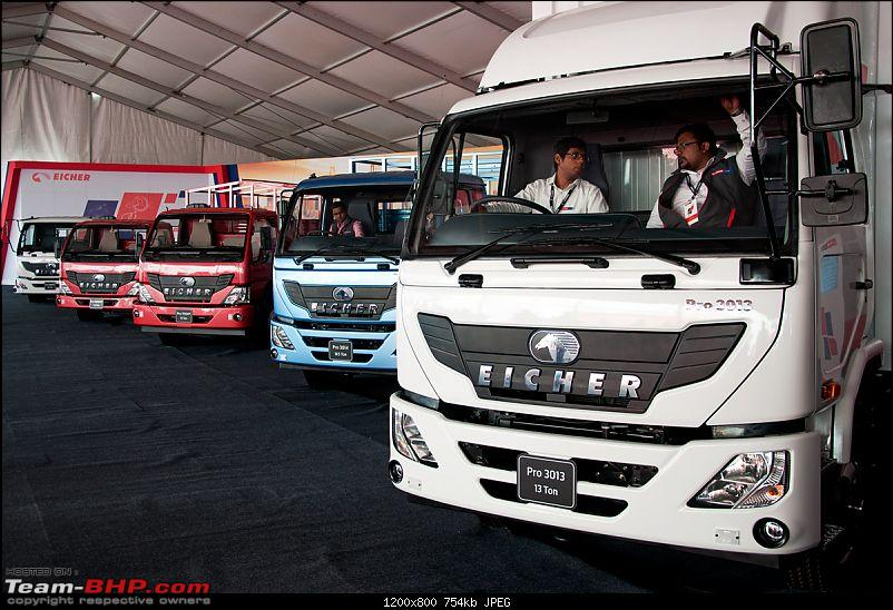 The Eicher Pro series: New range of Buses & Trucks-lineup1.jpg