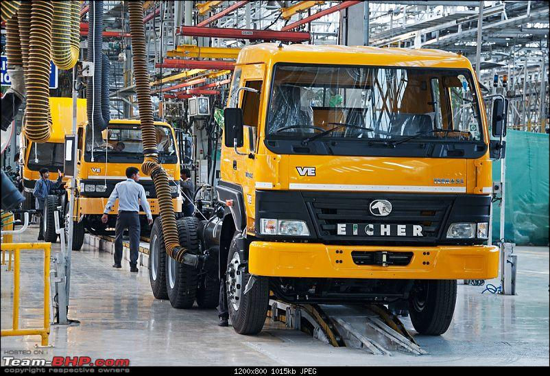 Pictorial: Eicher's Truck & Bus Factory, Pithampur-001.jpg