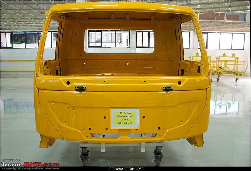 Pictorial: Eicher's Truck & Bus Factory, Pithampur-007cab.jpg