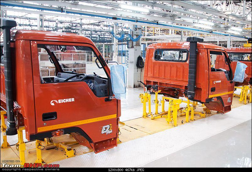 Pictorial: Eicher's Truck & Bus Factory, Pithampur-020.jpg