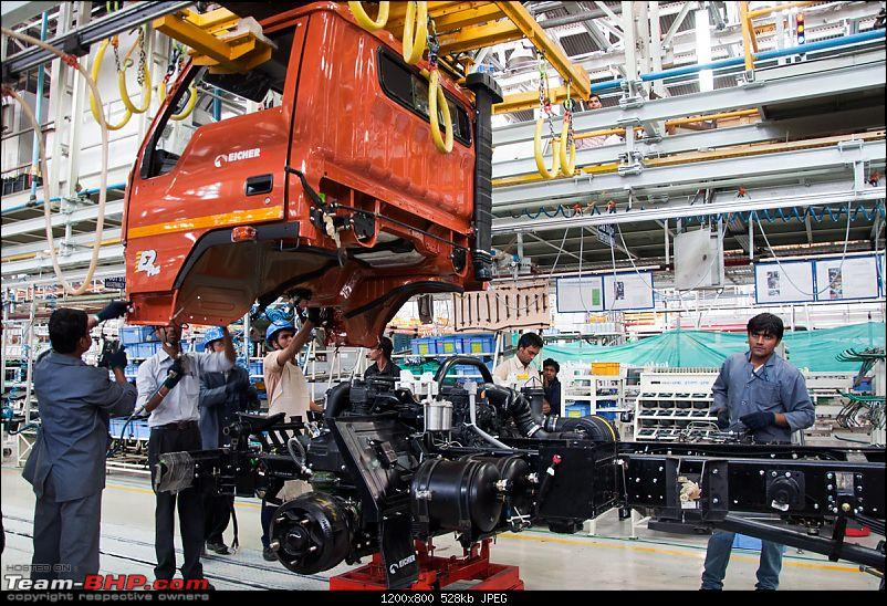 Pictorial: Eicher's Truck & Bus Factory, Pithampur-025.jpg