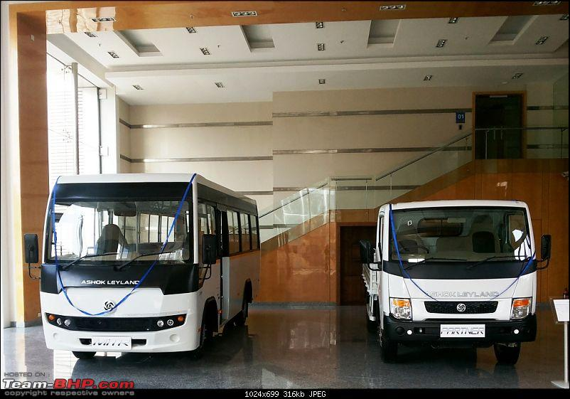 Ashok Leyland launches Partner and Mitr Buses-20140130_153149-2.jpg