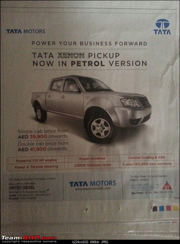 Tata Xenon Crew-Cab launched : The Downgraded variant of Xenon XT-20140419_115734.jpg