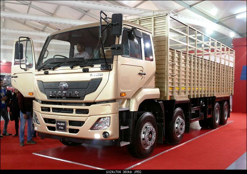 Volvo-Eicher launches Pro 6000 series truck-20140207_165417.jpg