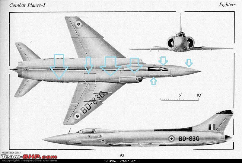 Indian Aviation: HAL HF-24 Marut, the first Indian Jet Fighter-p14-3view-copy.jpg