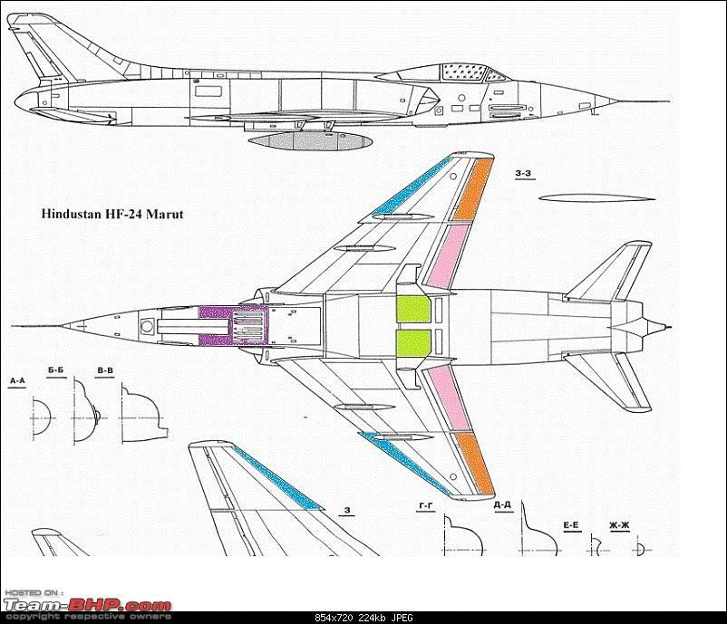 Indian Aviation: HAL HF-24 Marut, the first Indian Jet Fighter-p15-wing2.jpg