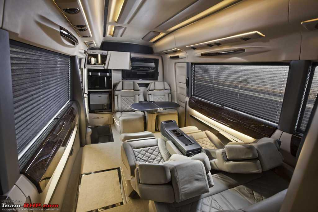 PICS Caravan Motorhomes In India Ls Isuzu Interior 02