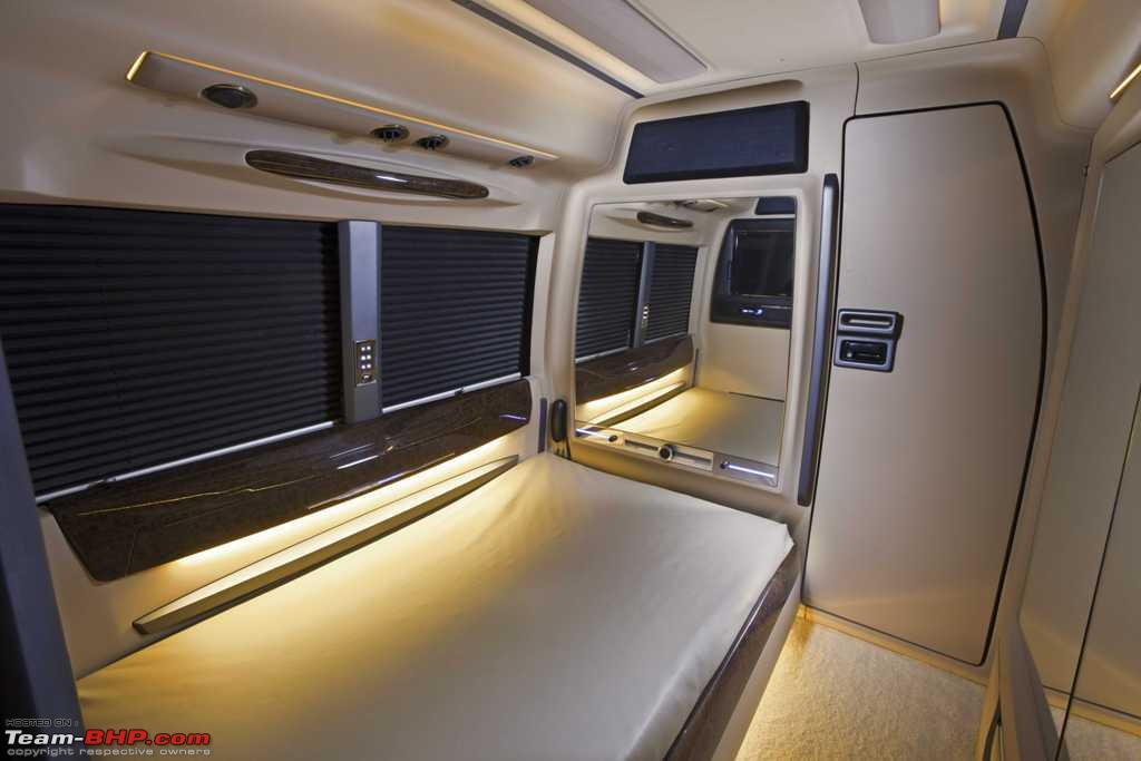 PICS Caravan Motorhomes In India Lsisuzu Interior 03