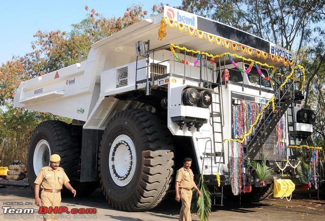 Bharat Earthmovers Launches Bh205 E India S Biggest Dump