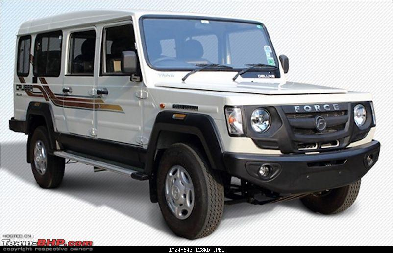 Force Motors launches Trax Cruiser Deluxe and Toofan Deluxe-cruiser1.jpg