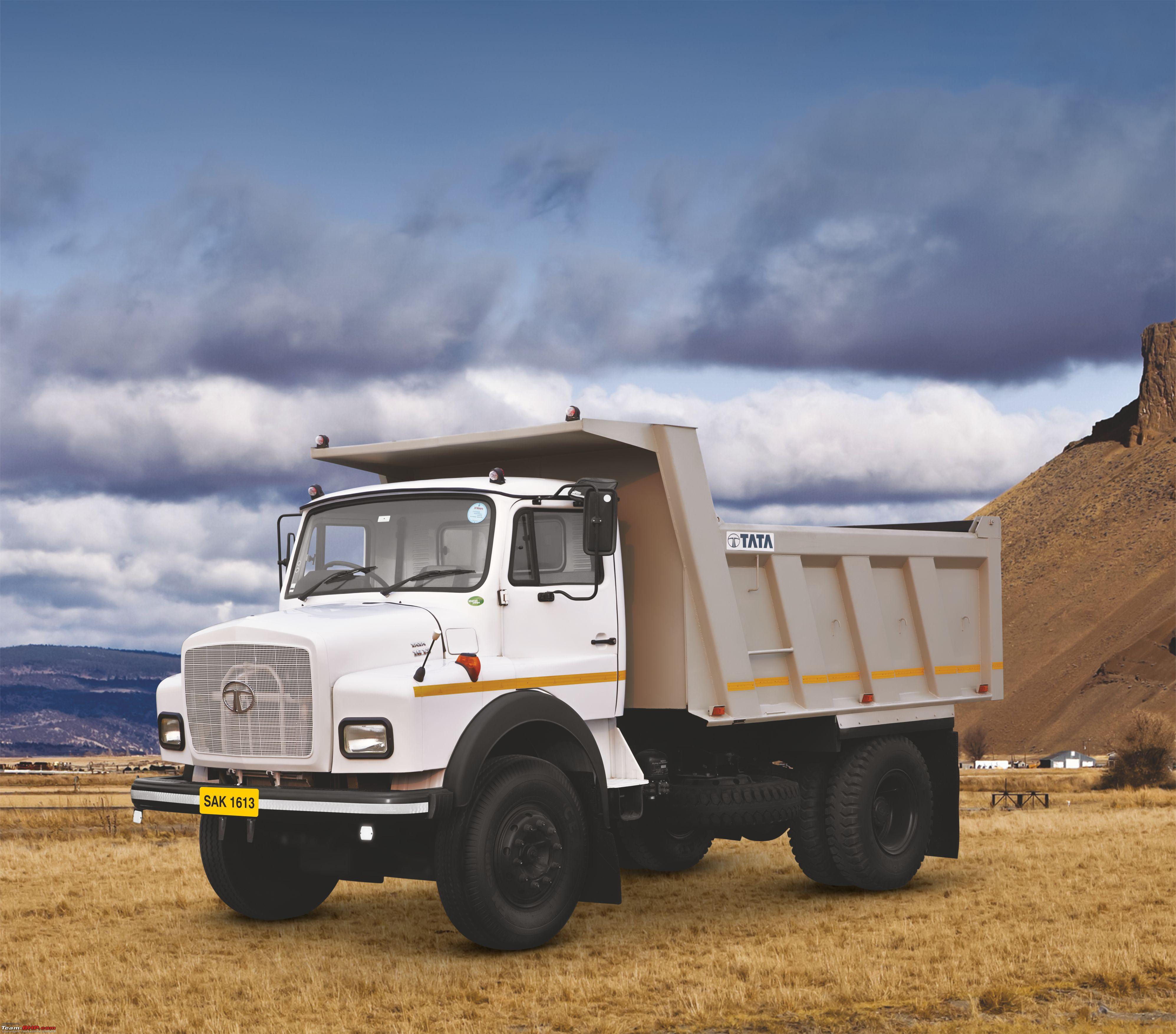 Tata Motors 39 New Trucks At Excon 2015 Team Bhp