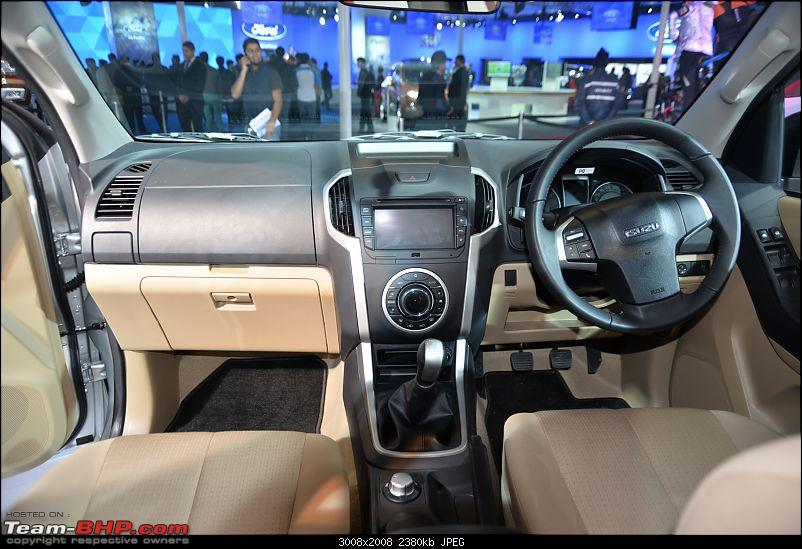 Isuzu @ Auto Expo 2016 (including the D-Max V-Cross)-1-15.jpg