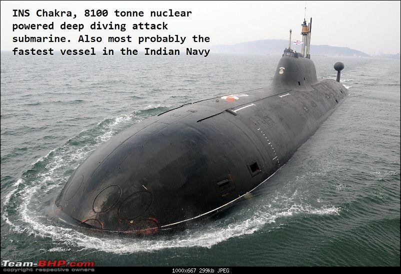 Submarines of the Indian Navy - Team-BHP
