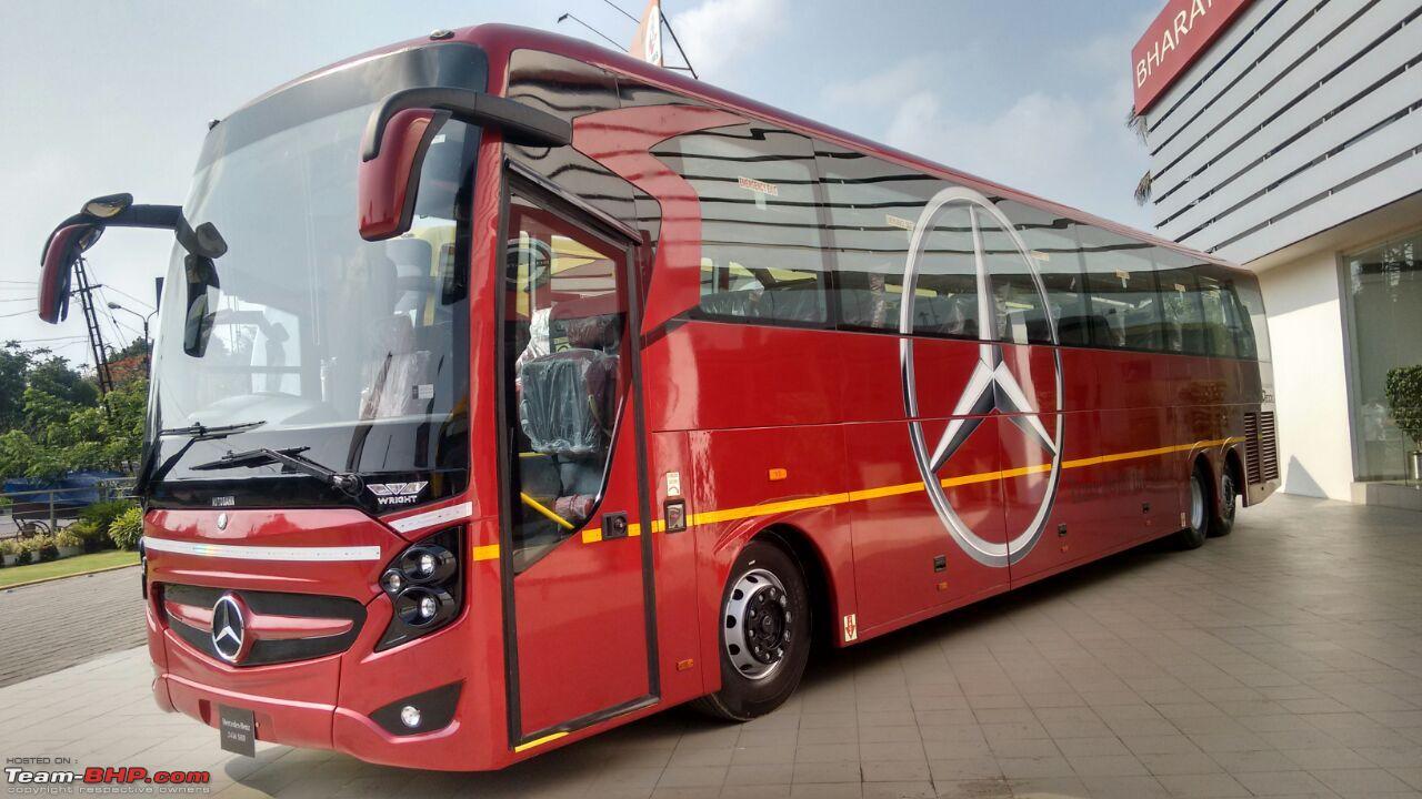 Daimler India launches Mercedes-Benz SHD 2436 coach - Page ...