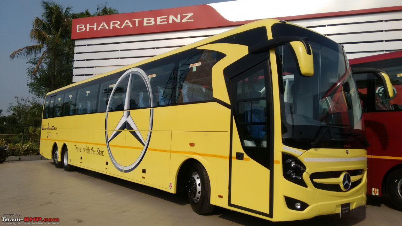 Daimler india launches mercedes benz shd 2436 coach page for Mercedes benz transit