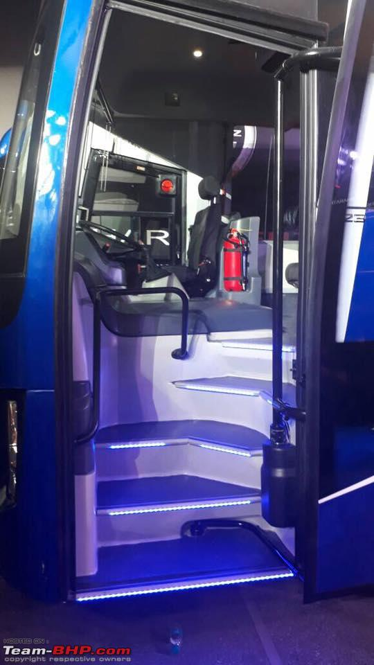Bharat Benz Launches New Intercity Bus The 16t Team Bhp