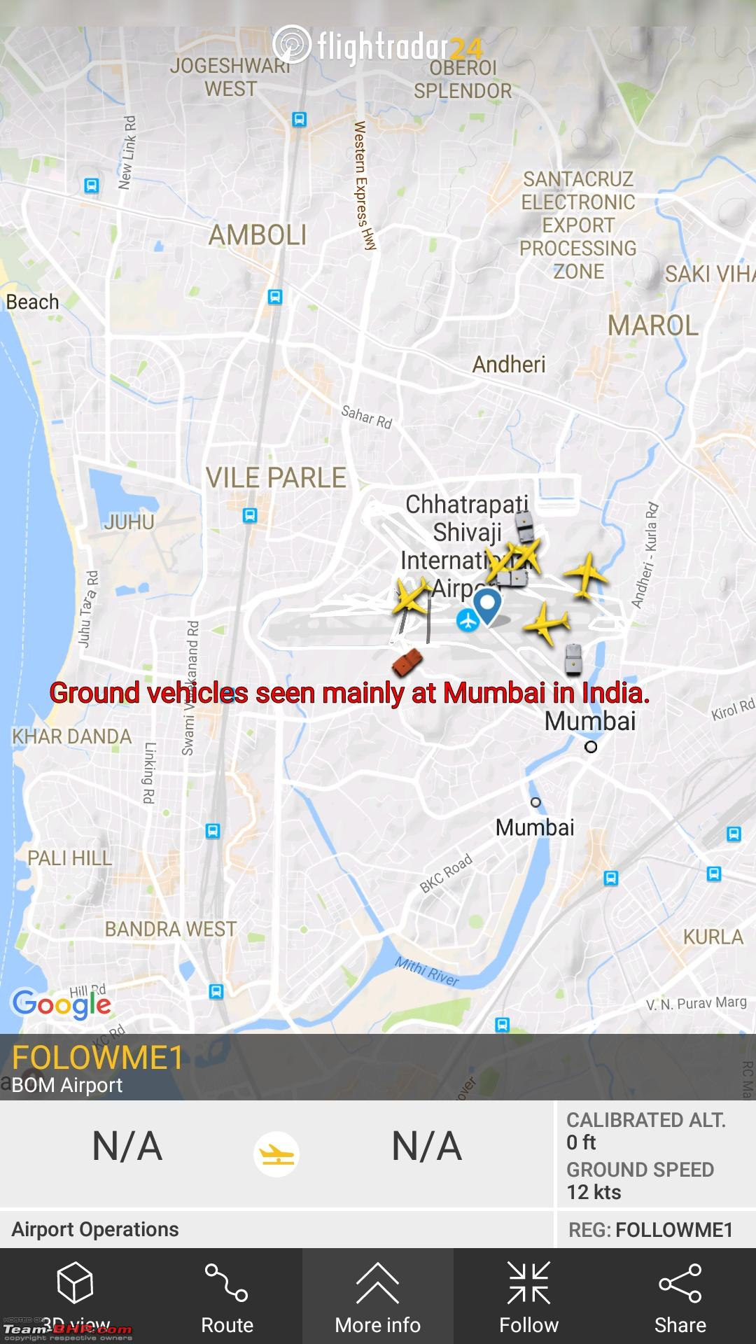 FlightRadar24 - Live Flight Tracker  My experience as a host