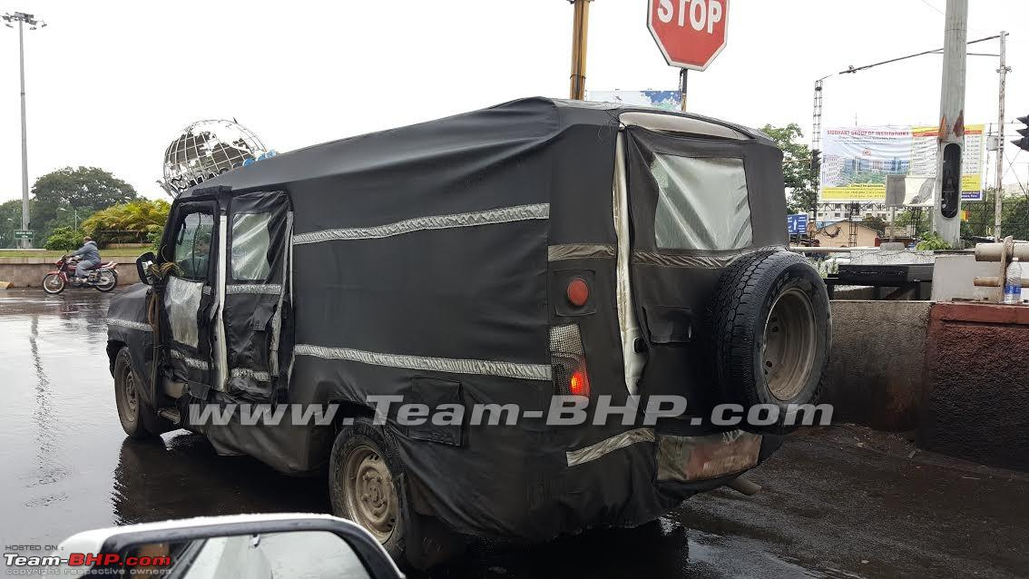 Team Bhp Huge Camo 39 Ed Force Motors Uv Spotted Testing