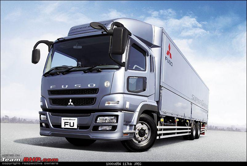 Video: Bharat Benz testing the Fuso Super Great truck-camion023.jpg