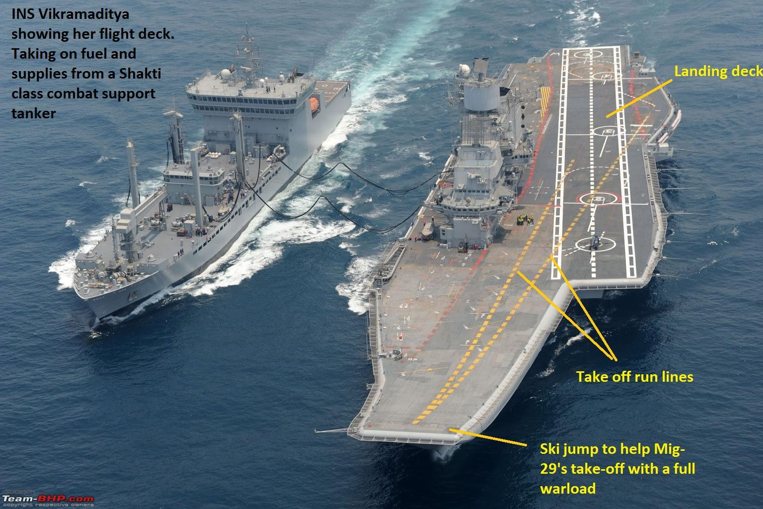 The Indian Navy - Combat Fleet - Team-BHP