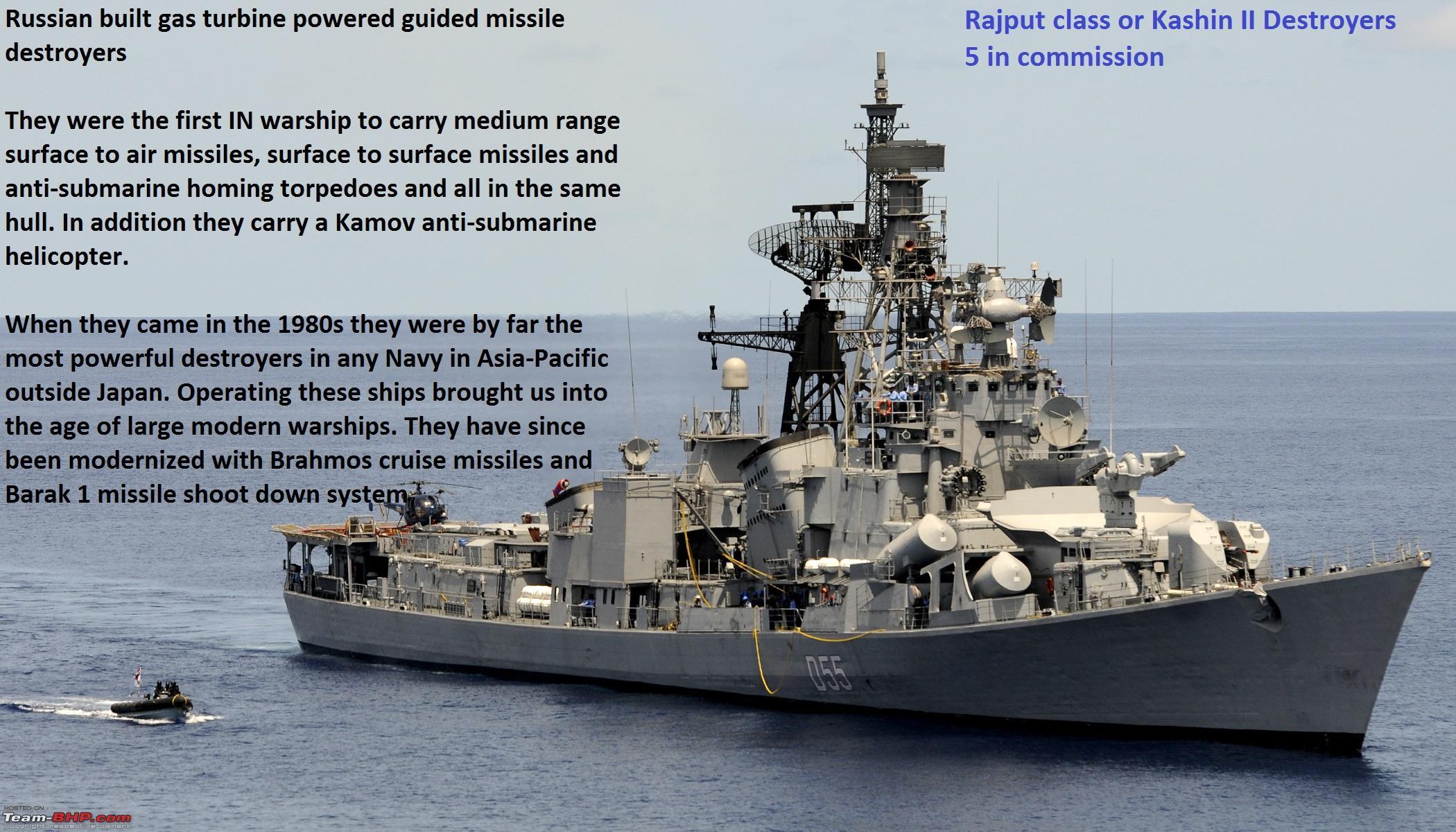 The Indian Navy - Combat Fleet - Team-BHP