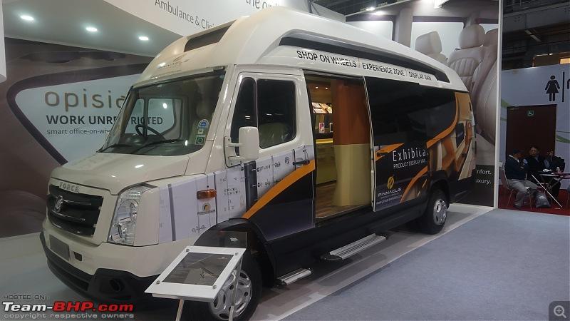 Luxury Motorhome: Pinnacle Speciality Vehicles @ Auto Expo 2018-36.jpg