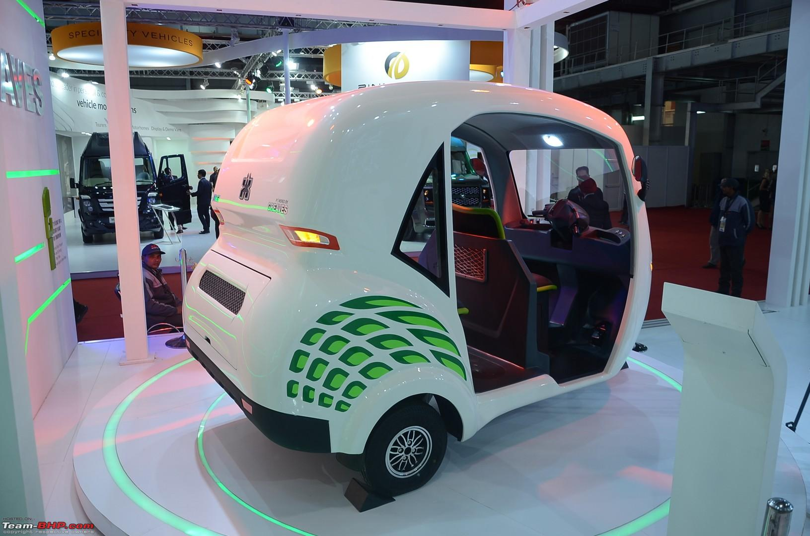 Greaves Cotton Auto Expo 2018 Team Bhp