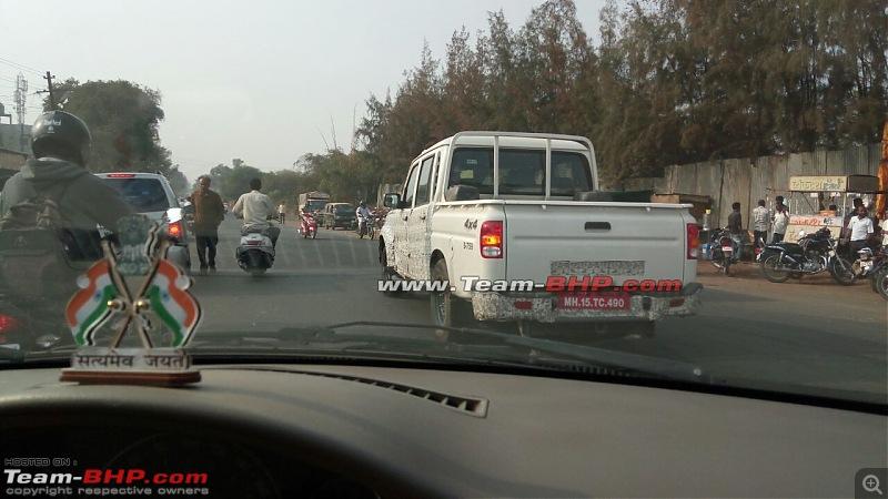 2016 Mahindra Getaway Pick-up spotted-7w.jpg