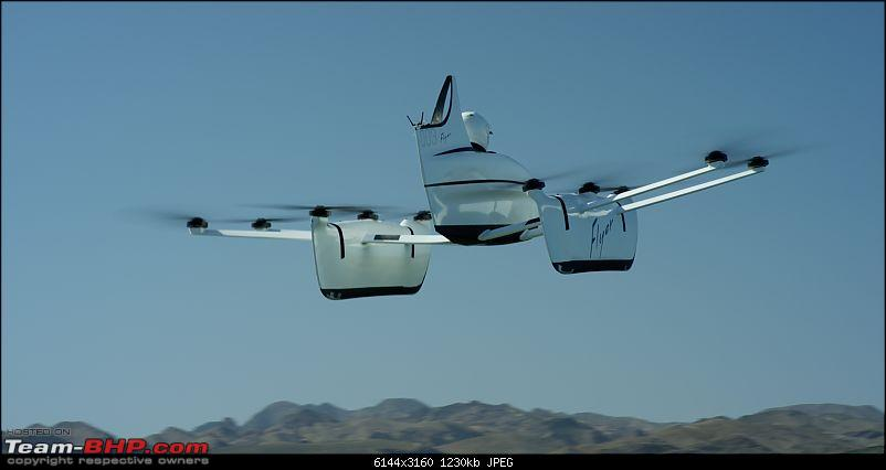 Kitty Hawk Flyer - Personal electric aircraft by Larry Page-flyerintheairv2.jpg