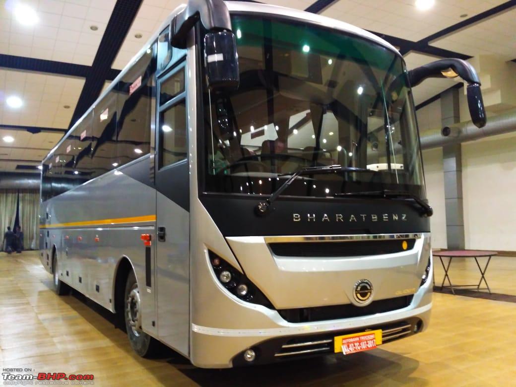 The Glider Premium Bus From Bharatbenz Dealer Autobahn