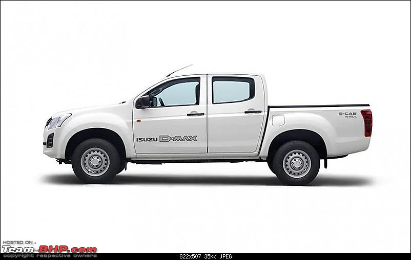Isuzu D-Max prices to be hiked by Rs. 1 lakh from April '21-dmax.jpg
