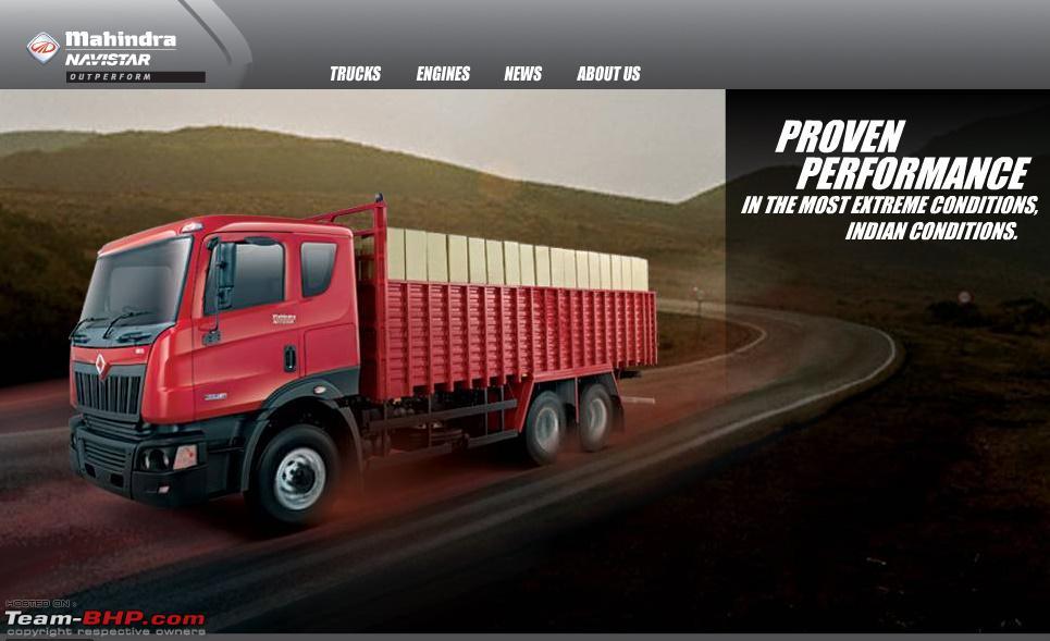Mahindra Navistar World Class Trucks Launched Team Bhp