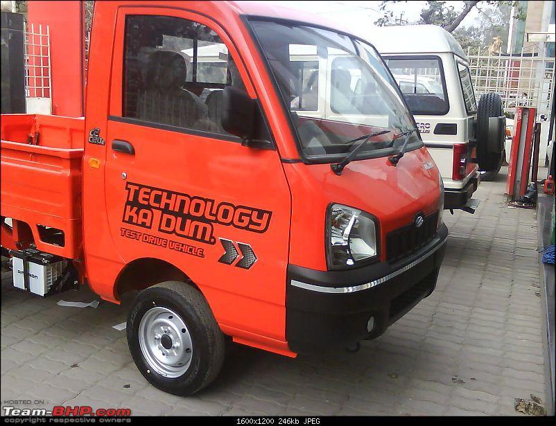 Mahindra Maxximo, New LCV EDIT: Launched at Rs 2.79 lakh Ex Showroom Navi Mumbai-dsc02174.jpg