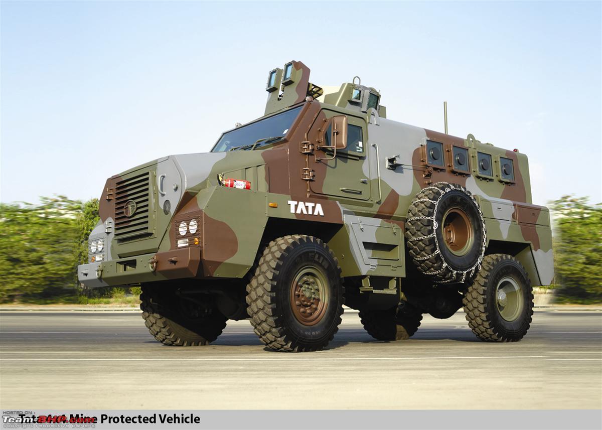 Tata s defence combat vehicles tata 4x4 mine protected vehicle