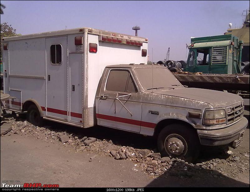 Pics - CVs being imported into India through Seaports-ford-ambulance-5.jpg