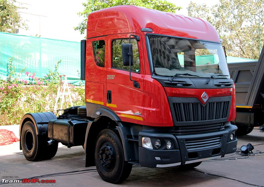 Report Amp Pics Mahindra Navistar Mn25 Tipper Amp Mn40