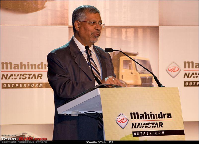 Report & Pics: Mahindra Navistar MN25 Tipper & MN40 Tractor Trailer Launch-rakeshkalra.jpg