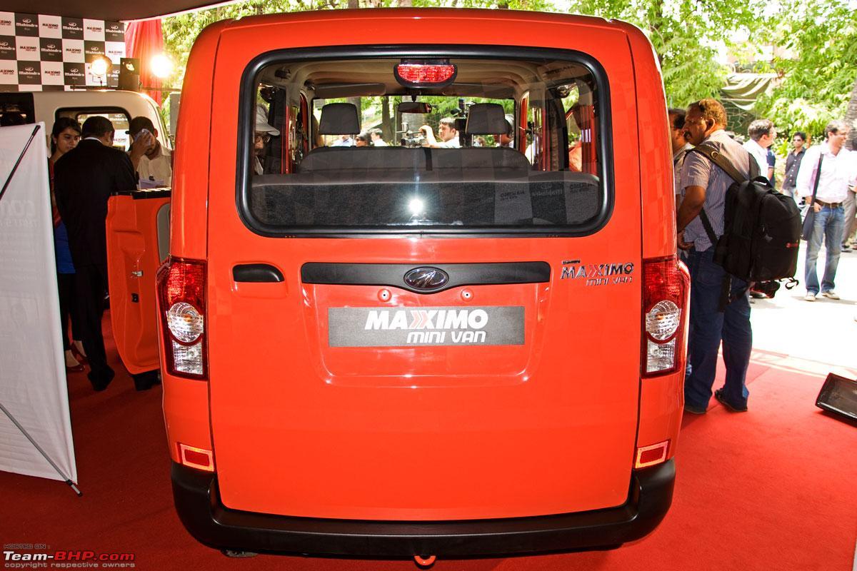 Mahindra Maxximo Mini Van Launched Rs 3 2 Lacs Team Bhp