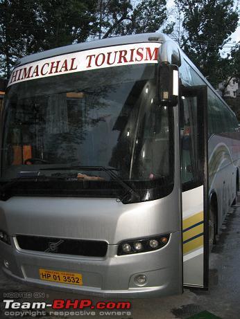 Volvo Buses Originating From Delhi Team Bhp