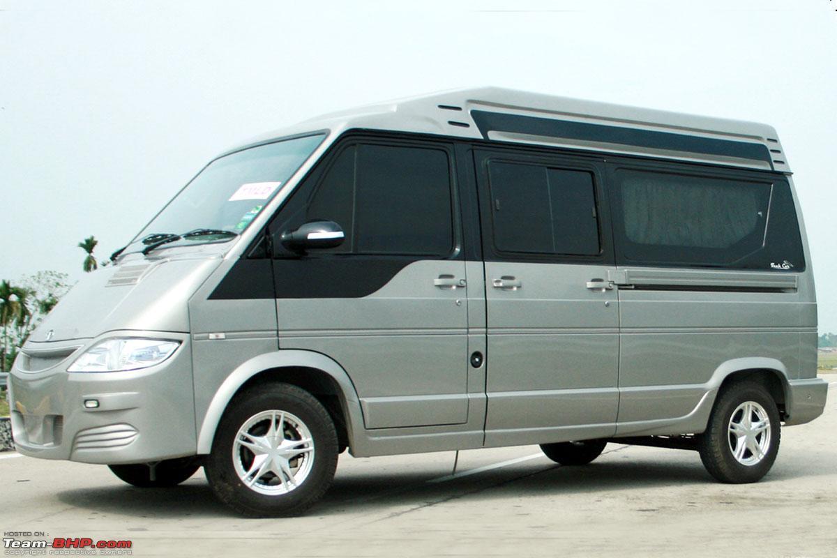 Tata Winger Executive Mobile Car By Pbc Team Bhp