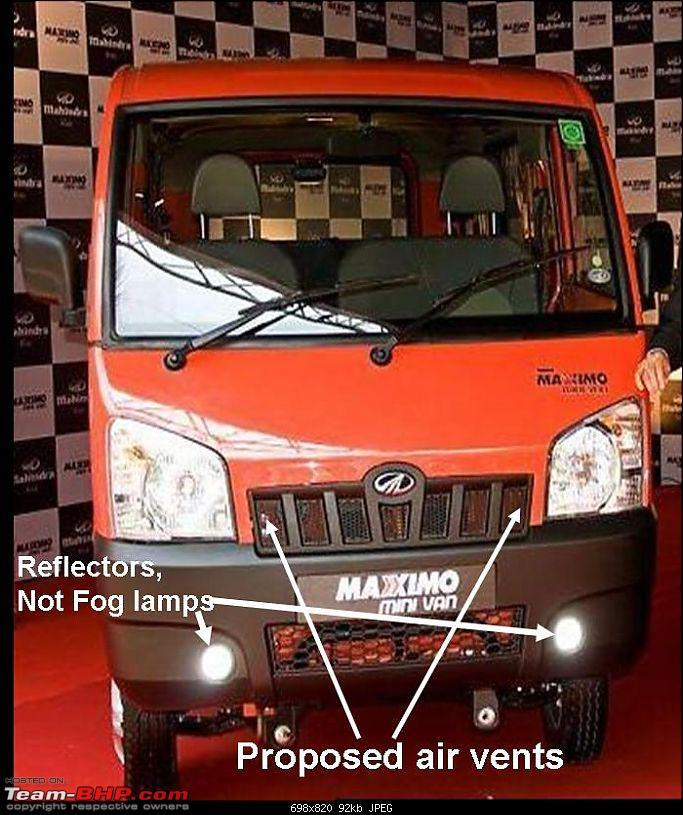 Test Drive of the Mahindra Maxximo Mini Van-front-look1_marked.jpg