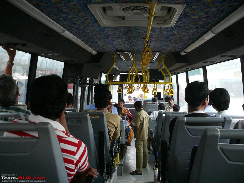 That same AC bus ride everyday. Source ~ team-bhp.com